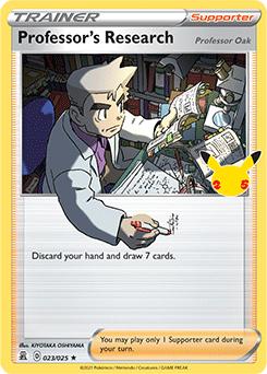 Professor's Research (Professor Oak)