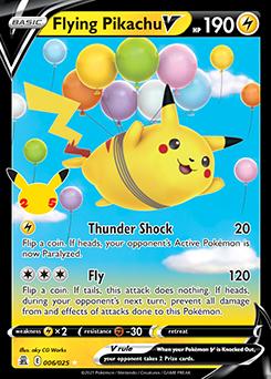 Flying Pikachu V
