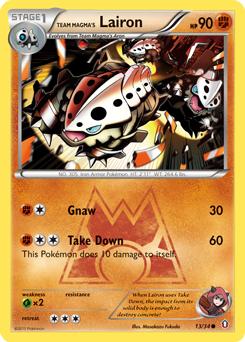 Team Magma's Lairon