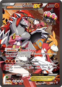 Team Magma's Groudon-EX