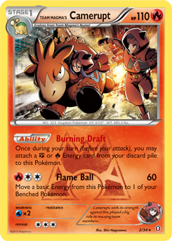 Team Magma's Camerupt