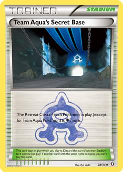 Team Aqua's Secret Base