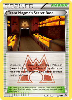 Team Magma's Secret Base