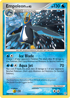 Empoleon pokemon card