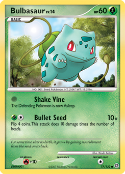bulbasaur pokédex