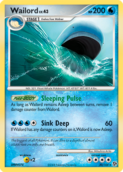 Wailord ex | EX Sandstorm | TCG Card Database | Pokemon.com Wailord Pokemon Card