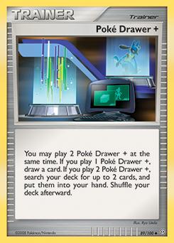 Poké Drawer +