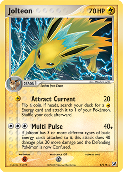 Jolteon-EX | Generations | TCG Card Database | Pokemon.com