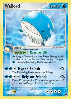 Wailord   EX Legend Maker   TCG Card Database   Pokemon.com Wailmer Pokemon Card