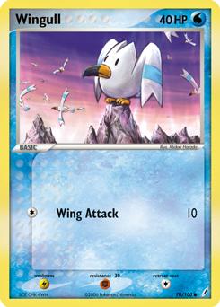 Wingull Pok 233 Dex