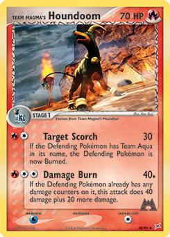 Team Magma's Houndoom