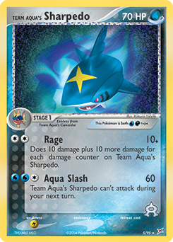Team Aqua's Sharpedo