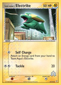Team Aqua's Electrike