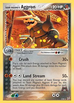 Team Magma's Aggron