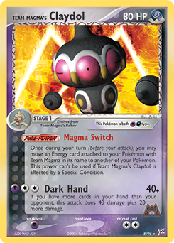 Team Magma's Claydol