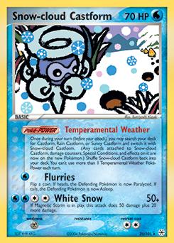 Snow-cloud Castform