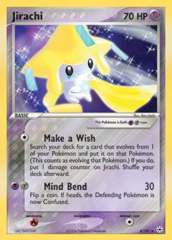 Jirachi ex black white plasma blast tcg card - Carte pokemon jirachi ...