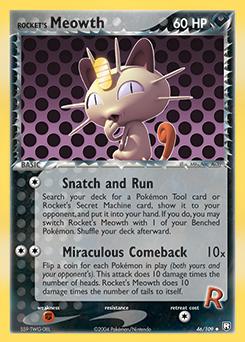Rocket's Meowth