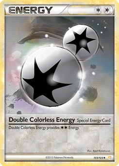Double Colorless Energy