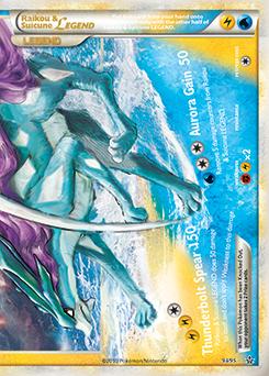 Raikou & Suicune LEGEND | HS—Unleashed | TCG Card Database ...