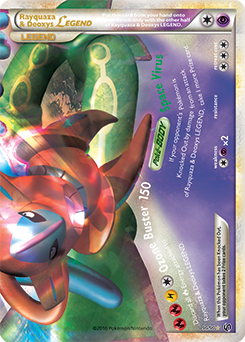 Rayquaza & Deoxys LEGEND | HS—Undaunted | TCG Card Database ...