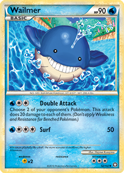 Wailmer | Pokédex Wailmer Pokemon Card