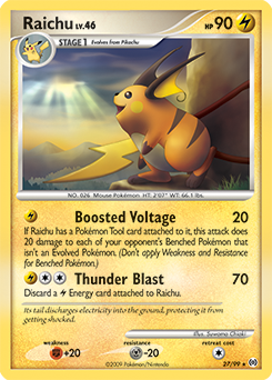 raichu platinum arceus tcg card database pokemoncom