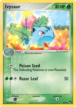 pokemon cards ivysaur