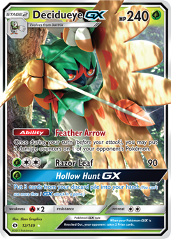 Decidueye-GX | Sun & Moon | TCG Card Database | Pokemon.com | 245 x 342 png 189kB