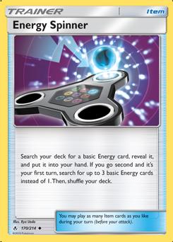 Energy Spinner