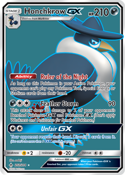 Honchkrow-GX
