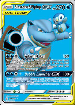 Blastoise & Piplup-