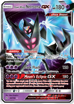 Dawn Wings Necrozma GX