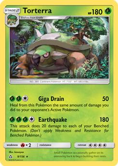 Torterra Ultra Prism Tcg Card Database Pokemoncom