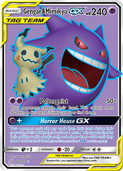 Mimikyu-GX | Lost Thunder | TCG Card Database | Pokemon com