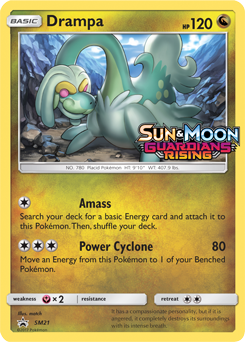 Drampa Gx Sm Guardians Rising Tcg Card Database