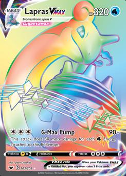 DIGITAL CARD Lapras V 49//202 Sword and Shield POKEMON TRADING CARD GAME ONLINE