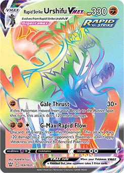Rapid Strike Urshifu VMAX