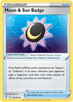 Moon & Sun Badge