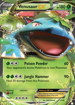 M-Venusaur-EX   XY   TCG Card Database   Pokemon.com