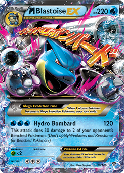 M-Blastoise-EX | XY | TCG Card Database | Pokemon.com