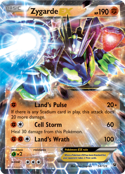 Zygarde ex xy fates collide tcg card database - Carte pokemon legendaire ex ...