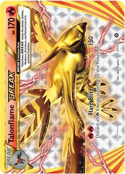 Mega Talonflame Card