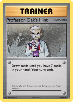 Professor Oak's Hint