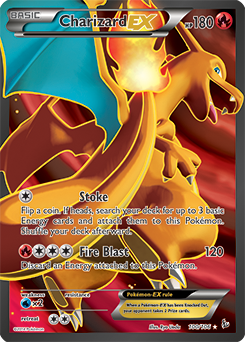 pokemon kort charizard ex