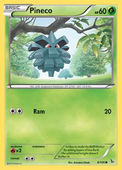 Pineco | XY—Flashfire | TCG Card Database | Pokemon com