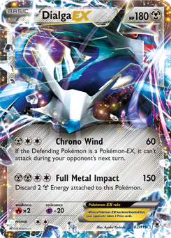 Dialga ex xy phantom forces tcg card database - Table des types pokemon xy ...