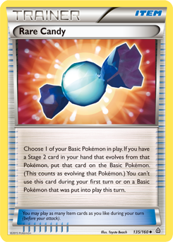 Rare Candy | XY—Primal Clash | TCG Card Database | Pokemon.com