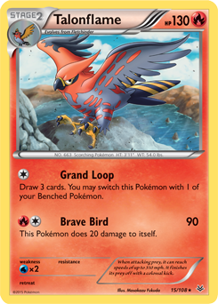 Talonflame Xy Roaring Skies Tcg Card Database