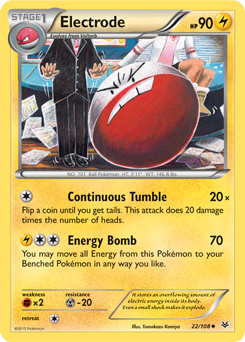 electrode pokemon card - photo #10